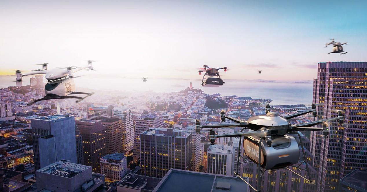 Drones y transporte