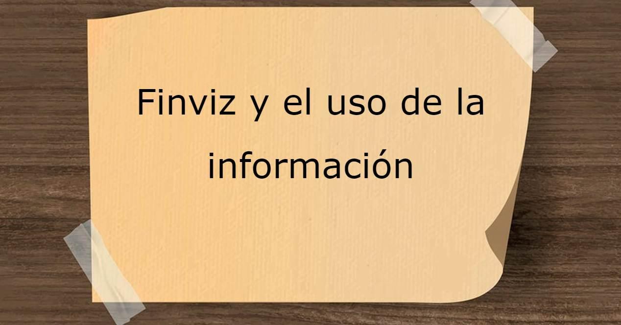 Finviz y la información