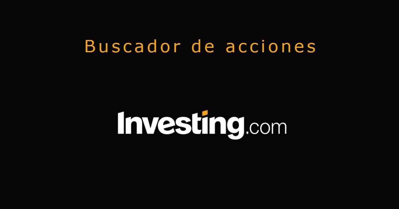 Buscador de acciones de Investing.com