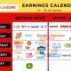 Earnings calendar 16_20 agosto