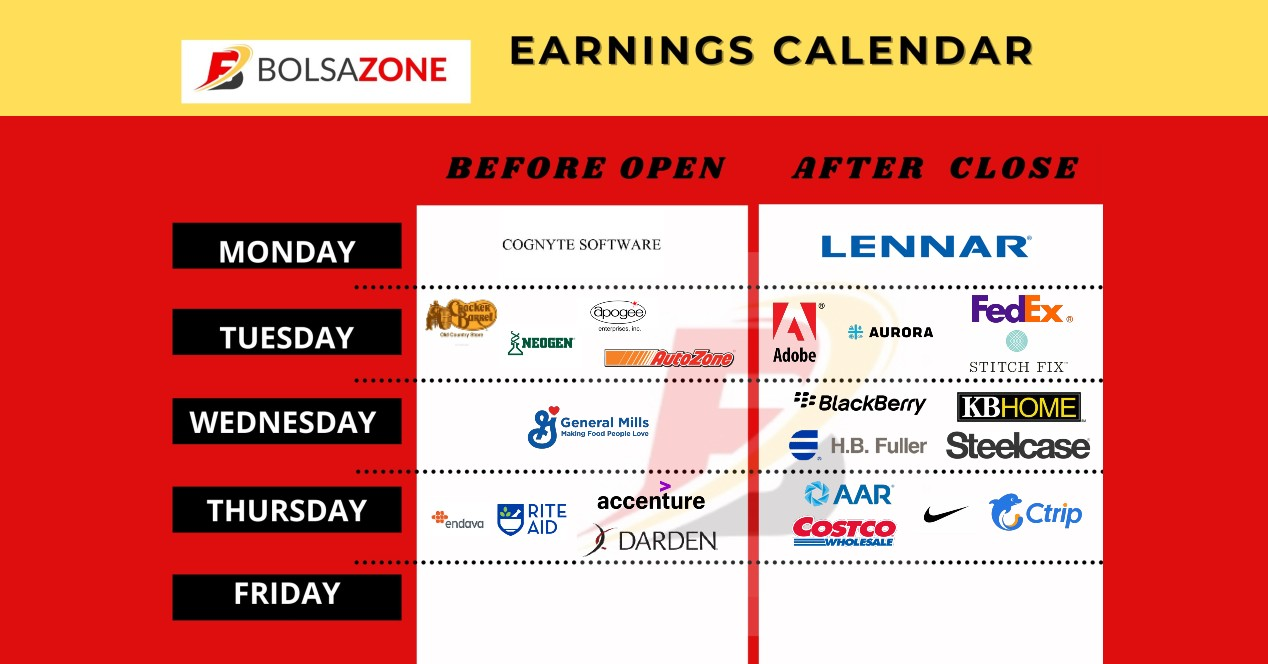 Calendario de llamada de ganancias (1)